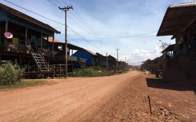 the Butterfly Pea Homestay in Kompong Khleang